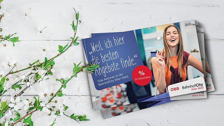 Neue Gutscheine für die BahnhofCity Wien West