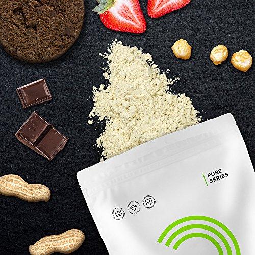 Bulk Powders Pure Whey Isolat 90 - Proteinpulver - Erdbeere (2500 g) für 27,72€