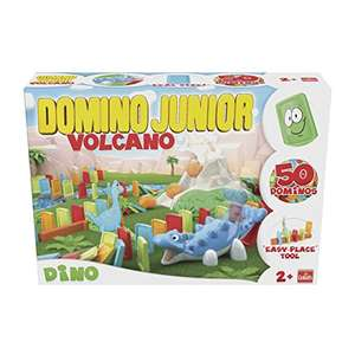 Goliath 81017 - Domino Express Junior Dino Vulcano um 10,29 statt 27,89 / Sammeldeal
