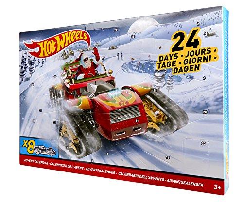 Mattel Hot Wheels DXH60 - Adventskalender 2017, inklusiv 8 Fahrzeuge 9,03 Euro bei Amazon