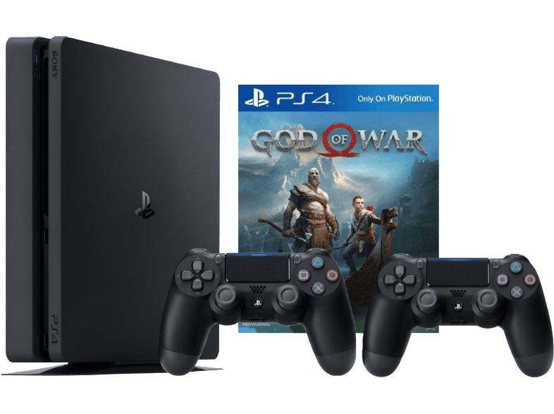 [Saturn] Sony PS4 Slim 1TB mit God of War und 2. Controller