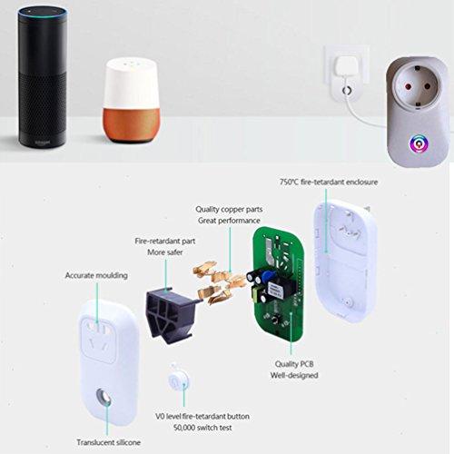 Smart Wifi Steckdose Kompatibel mit Amazon Alexa WLAN wenn das eine Stück um 5,99 zu wenig ist