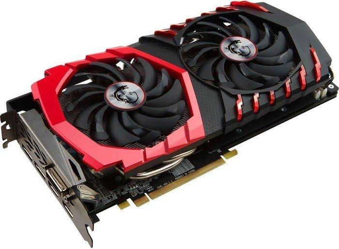 MSI Radeon RX 480 Gaming X, 4GB GDDR5