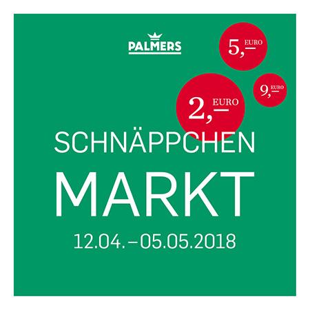 Palmers Schnäppchenmarkt vom 12.04. - 05.05.