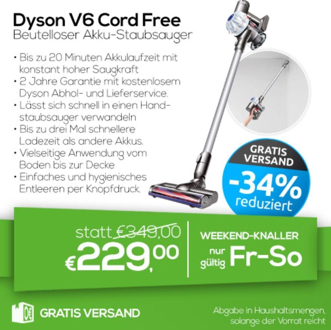 Dyson V6 Cord free