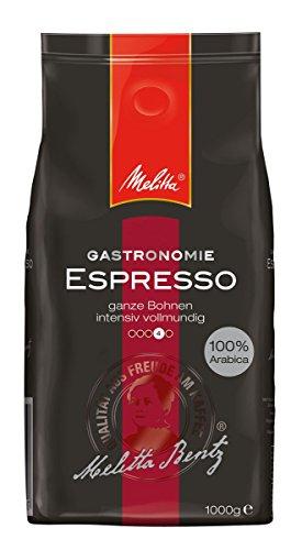 Amazon - Melitta Espresso, Ganze Kaffeebohnen, 100 % Arabica, Kräftig würzig, Intensiv und ausgewogen, Kräftiger Röstgrad, 1 kg 9,23 Euro