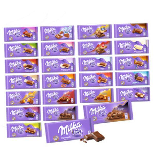 [Müller] Milka Schokolade 100g verschiedene Sorten