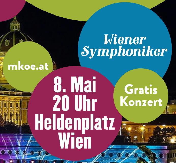 (Wien) GRATIS Konzert der Wiener Symphoniker - 8.5.2018