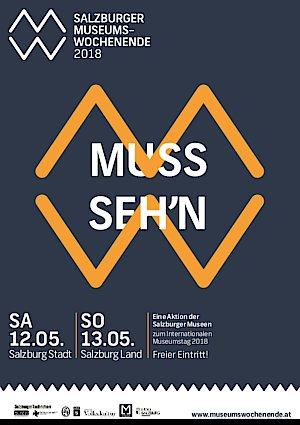 Salzburger Museumswochenende 2018: Freier Eintritt in zahlreiche Museen - 12. und 13. Mai