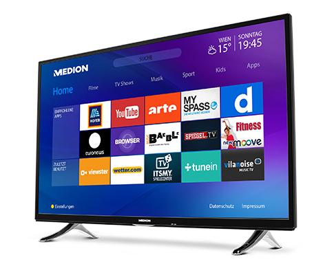 """[HOFER] 138,8 cm (55"""") Ultra HD Smart-TV  mit LED-Backlight Technologie"""