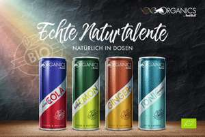 Gratis Red Bull Organics Probierpaket!
