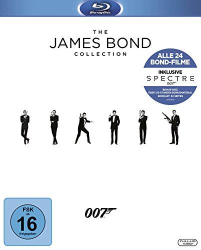 James Bond Collection Blu-rayreduziert