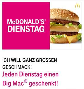 T-Mobile Dienstag Big Mac