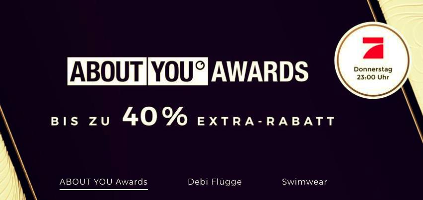 About You: bis zu 40% EXTRA Rabatt