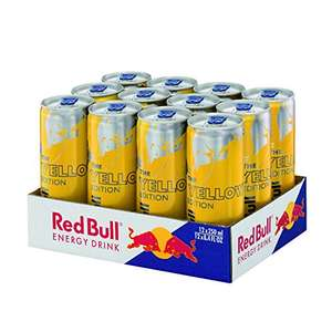 [Amazon Sparabo] Red Bull Yellow Edition Tropical, 12er Pack (12 x 250 ml) um 8,04€ = 0,67€/Dose