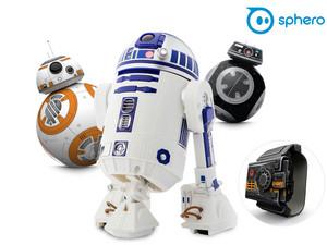 Sphero steuerbarer Star Wars Droide (R2-D2 / BB-8 / BB-9-E) für je 75,90€ / + Force Band für je 85,90€