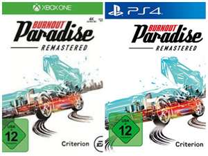[PS4/Xbox One] Burnout Paradise Remastered