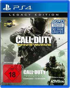 Call of Duty: Infinite Warfare - Legacy Edition (inkl. Modern Warfare Remastered) (Xbox One / PS4) für 20€