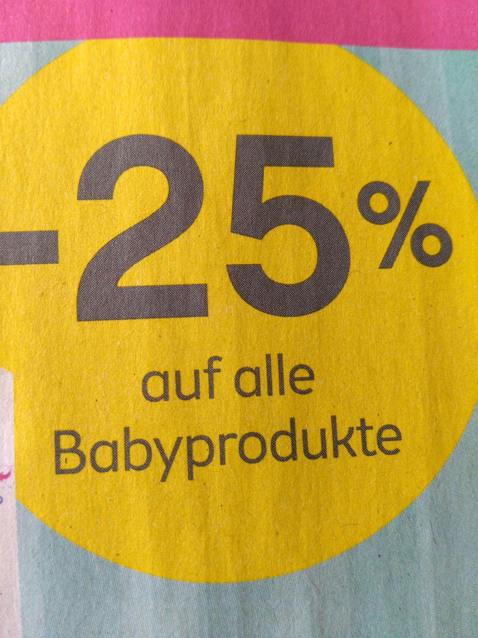 Bipa Filialen: -25% auf Babyprodukte