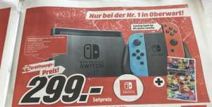 Media Markt lokal: Nintendo Switch-Set MarioKart/Super Mario Odyseey