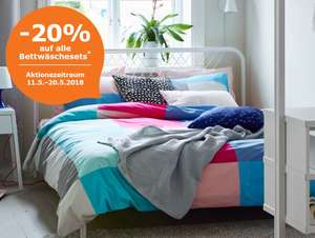 IKEA: -20% auf Bettwäsche (Family und Business)