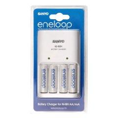 [Akku] Sanyo Ladegerät mit 4 Stk. AA Batterien für 13€