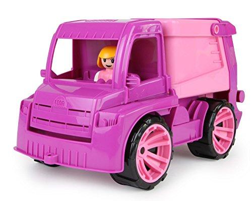 Amazon Lena 04426 Truxx Müllwagen, ca. 29 cm lose, mit Spielfigur Mädchen Müllauto, Rosa oder Kipper ab 8,92 Euro