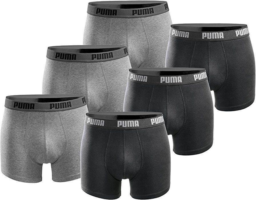 6 Puma Boxershorts vers. Größen und Farben
