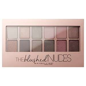 Amazon Plus: Maybelline - The blushed Nudes /  The Nudes Lidschatten Palette