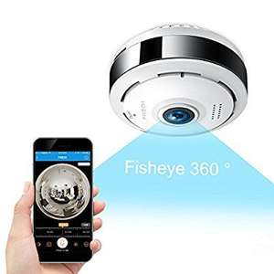 FREDI IP Sicherheit Kamera 960P Panorama Kamera 180° 40% Rabatt