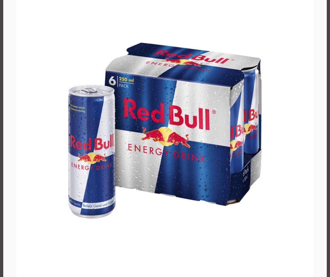 [Preisfehler?] 6x Red Bull 250 ml um 1,29€