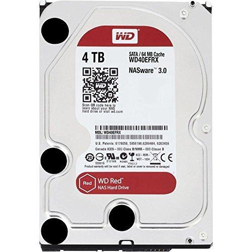 "WD Red 4TB (WD40EFRX) 3,5 "" 5400 U/Min NAS Festplatte"