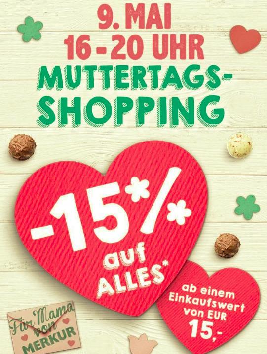 -15% auf Alles - ab einem Eikaufswert von 15€ (NUR HEUTE)