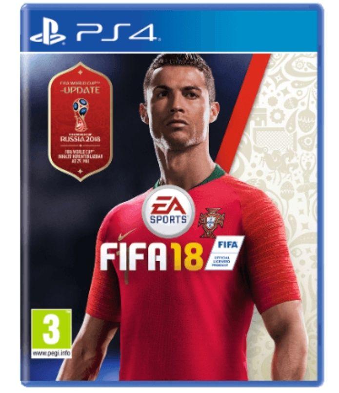 Fifa 18 für die PS4 mit Gutschein-Code