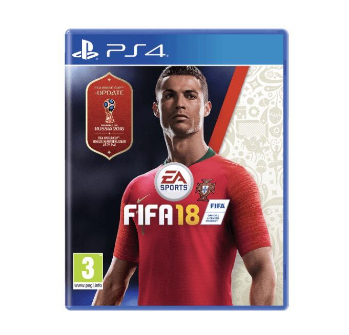 Fifa 18 + (WM18) für PS4