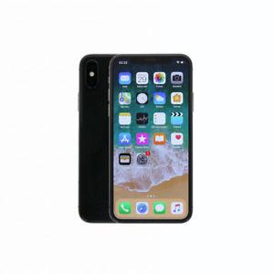 Apple iPhone X (64 GB, schwarz)