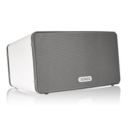 Sonos PLAY:3 WLAN-Speaker für Musikstreaming (Weiß)