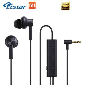 [Aliexpress] Xiaomi In-Ear Headphones mit active noise cancellling + 3.5 Anschluss