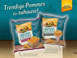 McCain Bistro Style Pommes Cashback