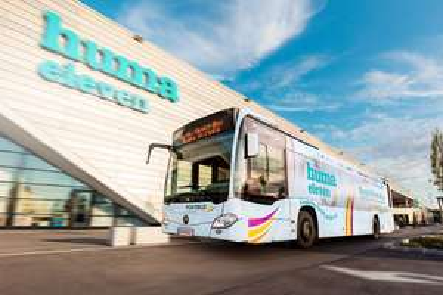 GRATIS Shuttle Bus: Huma Eleven - Wien Simmering - Schwechat