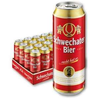 Schwechater Dosen Bier 0,5l Taborland [Steyr]