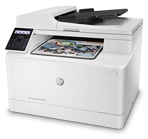 HP Color LaserJet Pro M181fw Multifunktions-Farblaserdrucker (Drucken, scannen, kopieren, faxen, WLAN, LAN, Duplex, Airprint)