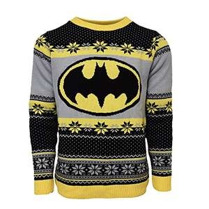 Official Batman Christmas Jumper/Ugly Sweater in XL für 12,03€ / S für 14,35€