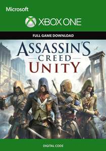 Assassin's Creed: Unity (Xbox One Digital Code) für 56 Cent (CDKeys)