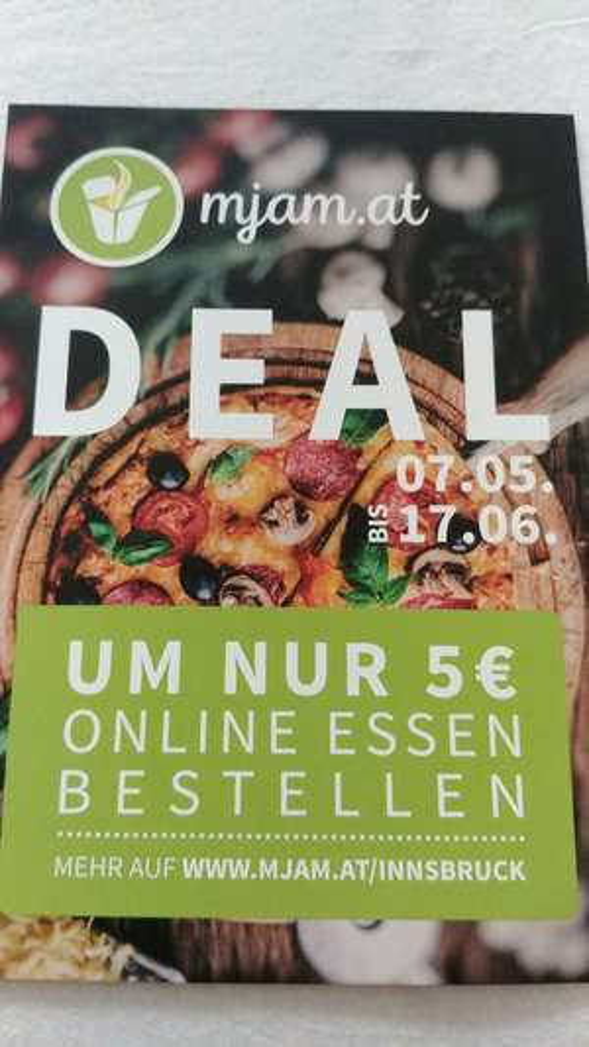 Innsbruck: Mjam.at Deal