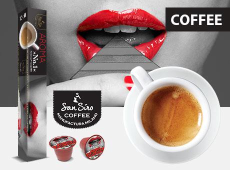 SanSiro Kaffee- und Teekapseln im Abverkauf
