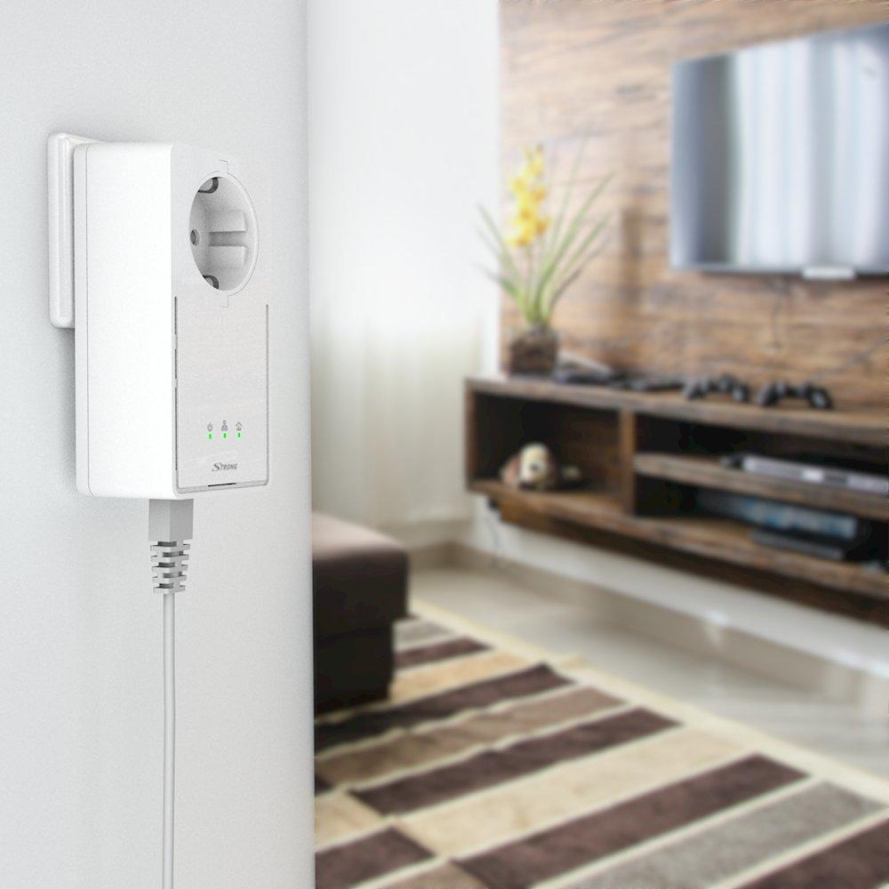 [amazon.de] Powerline Adapter SET mit 1 GB LAN ANschluss bis zu 1200 MBit/s