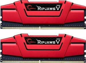 [Amazon] G.Skill RipJaws V rot DIMM Kit 16GB, DDR4-3200, CL15-15-15-35 für 130,55 € statt 211,72 €