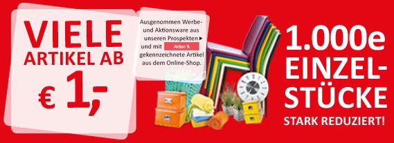 Kika Flohmarkt - viele Artikel ab 1 Euro