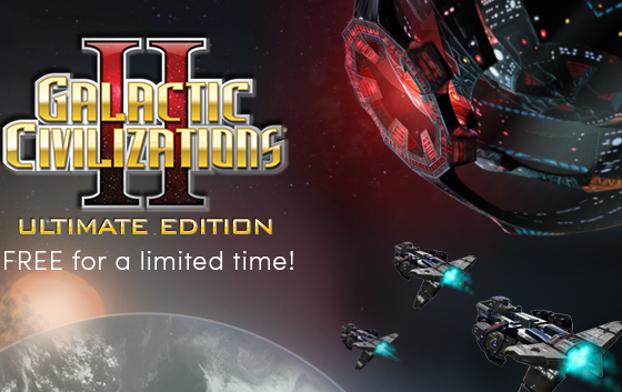 Humble: Galactic Civilizations II: Ultimate Edition -Gratis-